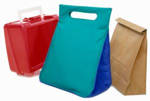 Three lunch bags