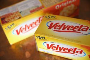 Two boxes of Velveeta cheese