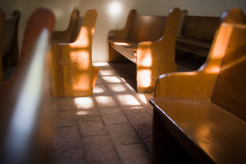 church benches