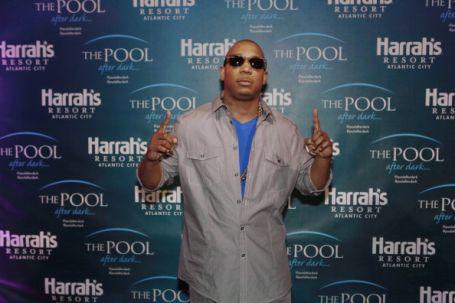 JaRule Hosts The Pool After Dark At Harrah's Resort
