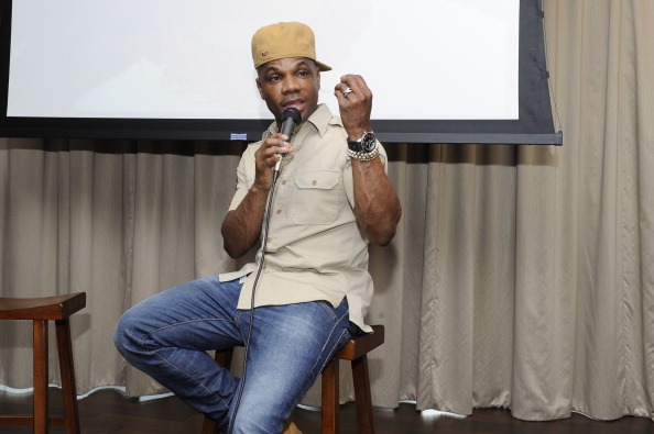 "Kirk Franklin Hosts Listening Session Of Tasha Page-Lockhart's  ""Here Right Now"" Album"