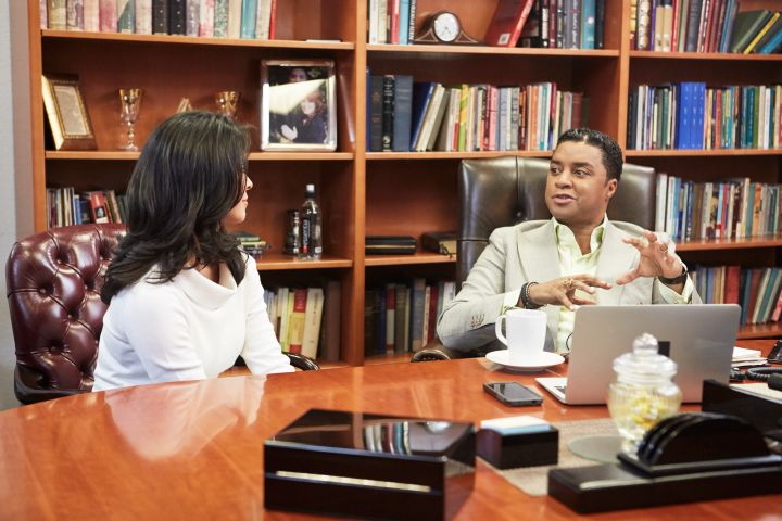 Bishop Clarence McClendon and Priscilla