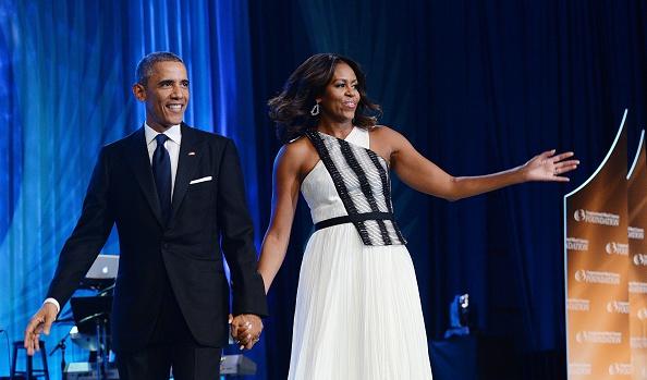 President Obama addresses Congressional Black Caucus Foundation Dinner- DC