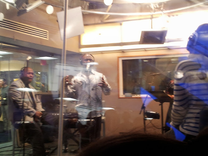 Bebe Winans says filming music video was fun
