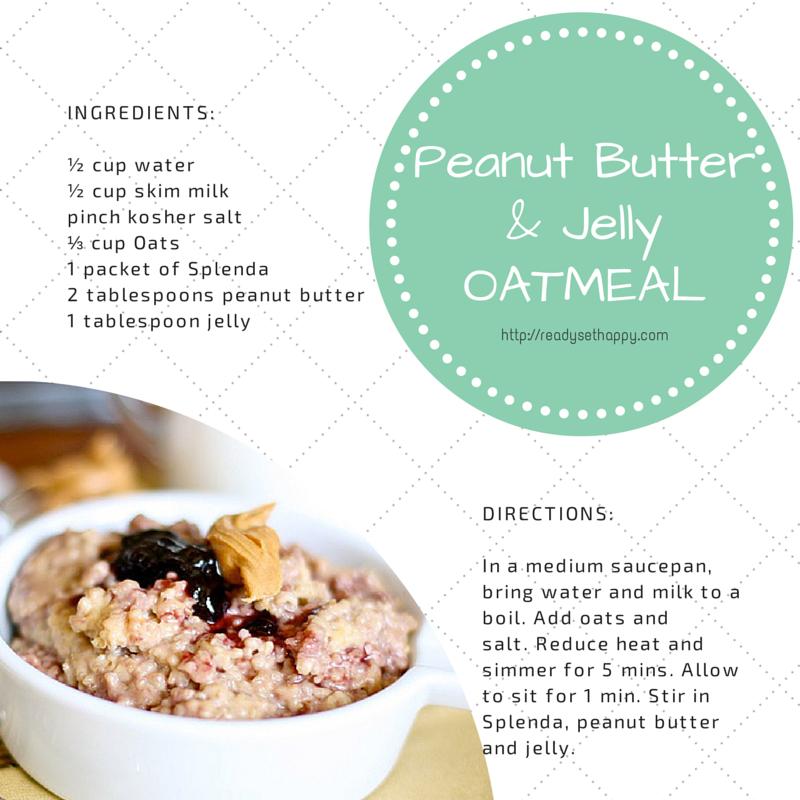 Peanut Butter & Jelly Oatmeal