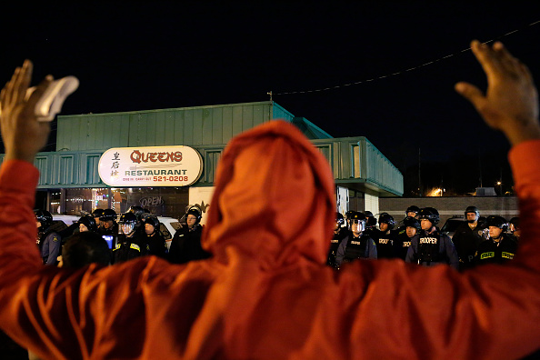 Holiday Shopping Begins In Ferguson As Protests Continue