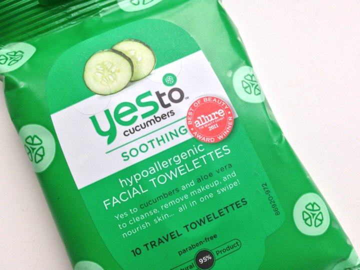 Yes To Cucumbers Face Wipes, $5.99