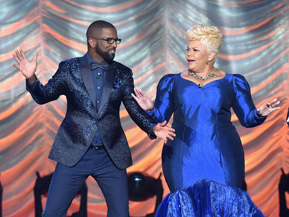 Rickey Smiley and Tamela Mann