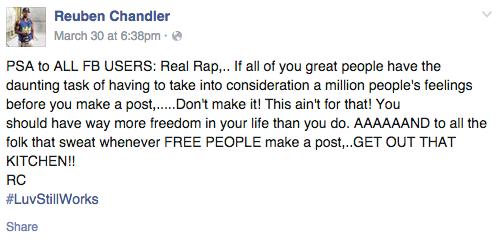 Reuben Chandler PSA