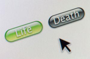 life death computer choice