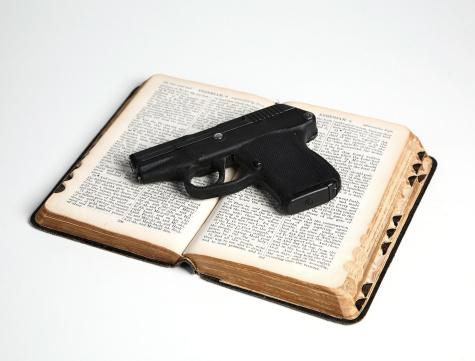 Gun and Bible
