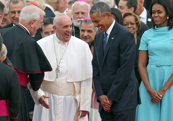 Pope Francis and President Obama Share Laughs