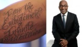 Pastor Gets Tattoo on Black Ink