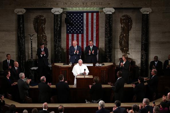 Pope Francis Addresses U.S. Representatives