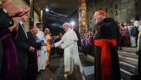 Pope Francis Ground Zero