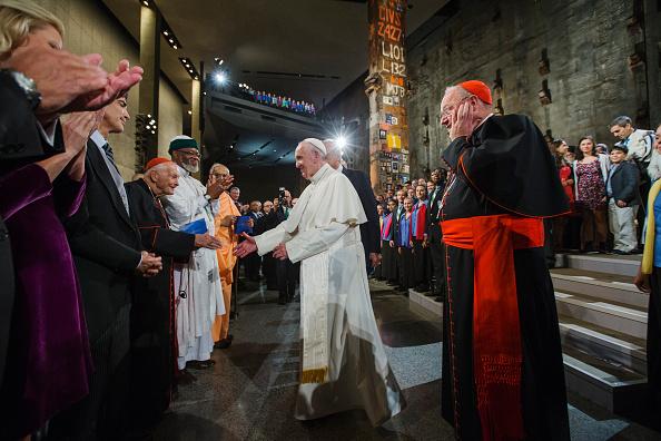 Pope Francis Participates In Intefaith Service