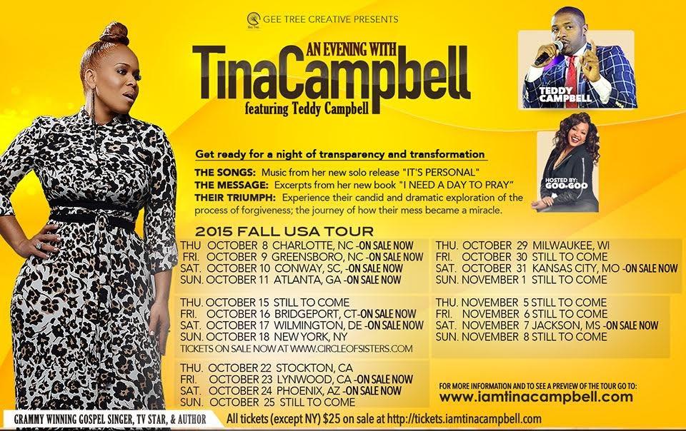 Tina Campbell Tour Dates