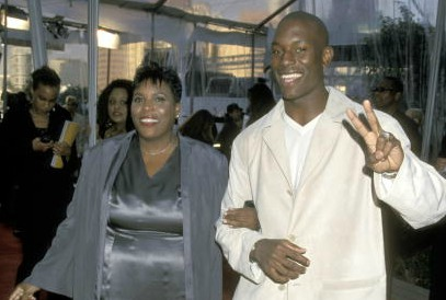 Tyrese and Mom