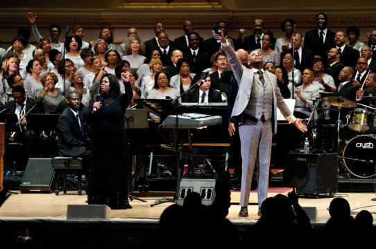 Donnie McClurkin Carnegie Hall