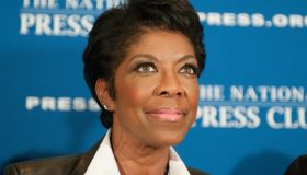 Grammy Award winner Natalie Cole speaks at the National...
