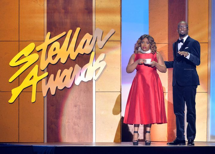 Stellar Award Hosts Rickey Smiley and Sherri Shepherd