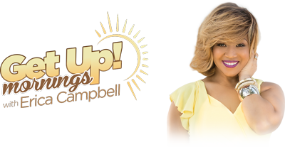 Erica Campbel - Get up mornings logo 101116
